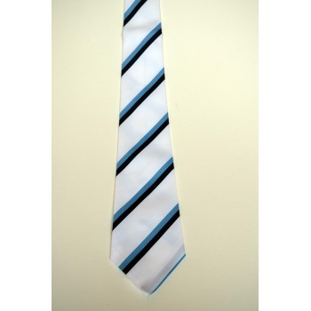 Pembroke College Summer Striped Tie.