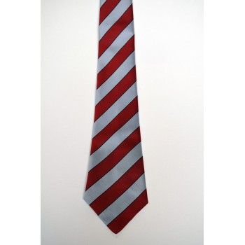 Lady Margaret Boat Club Striped Tie.