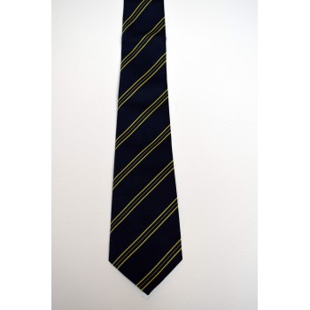 First and Third Trinity Boat Club Striped Tie.