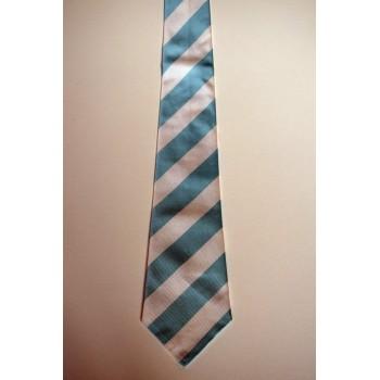 Half Blue Tie.