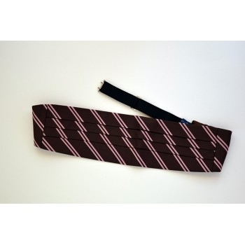 Churchill College Cummerbund.