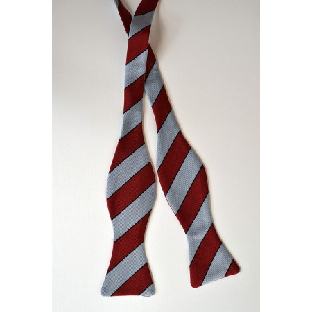Lady Margaret Boat Club Striped Bow Tie.