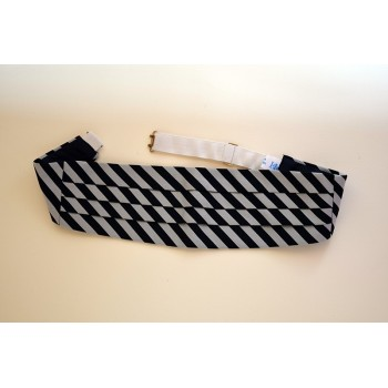 Christ's College Boat Club (equal/equal stripe) Cummerbund.