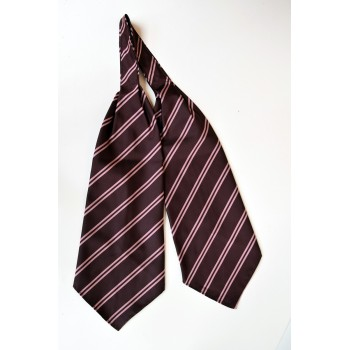 Churchill College Striped Cravat.