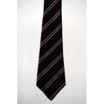 Churchill College Striped Tie.