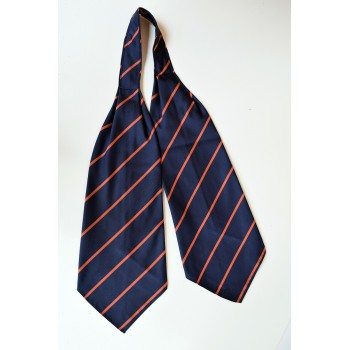 Emmanuel College Striped Cravat.