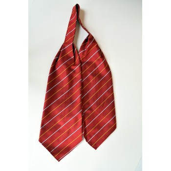 Wolfson College Striped Cravat.