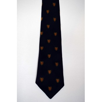 Clare College Crested Tie