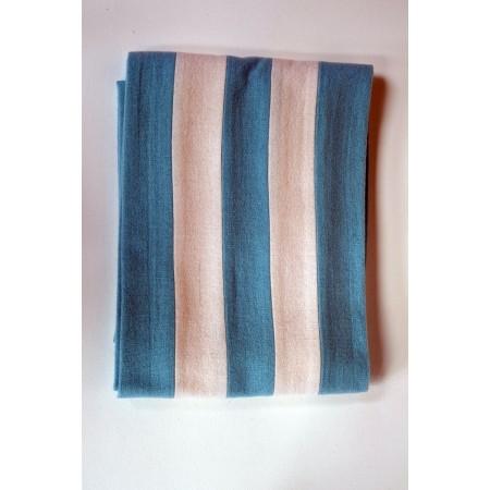 Half Blue Scarf.