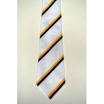 Clare College Summer Striped Tie