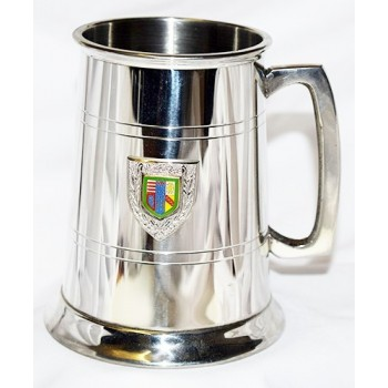 Queens College Pewter Tankard