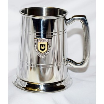 Trinity Hall College Pewter Tankard
