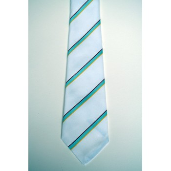 Darwin College Summer Striped Tie