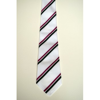Downing College Summer Striped Tie
