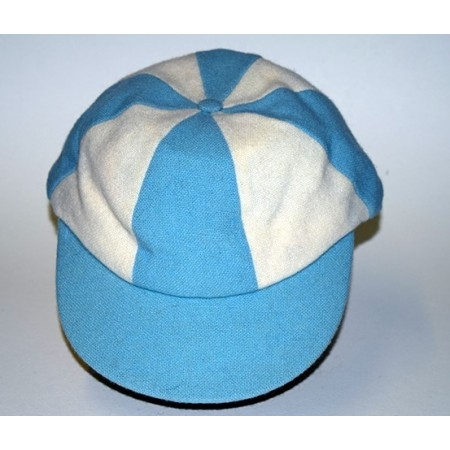 Half Blue Cap