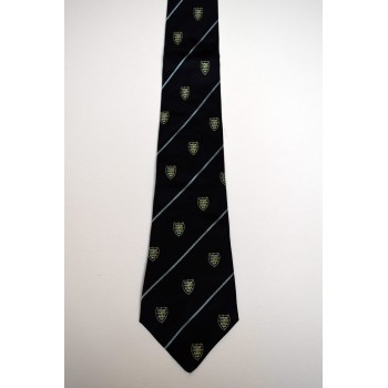 Downing College Association Crested Tie.
