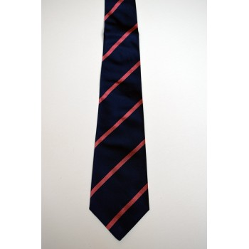 Emmanuel College Striped Tie