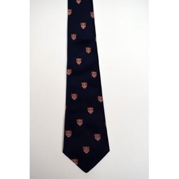 Fitzwilliam College Crested Tie.
