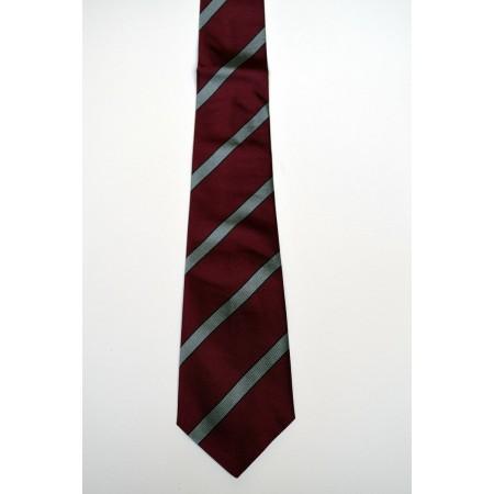 Fitzwilliam College Striped Tie.