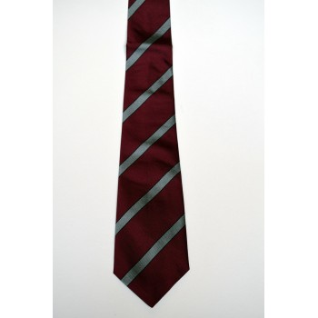 Fitzwilliam College Striped Tie.