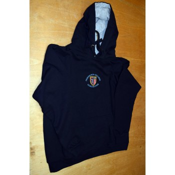 Pembroke College Hooded Navy Top