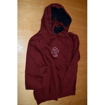 St. Catharine's College Hooded Maroon Top