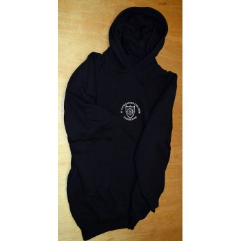 St. Catharine's College Hooded Black Top
