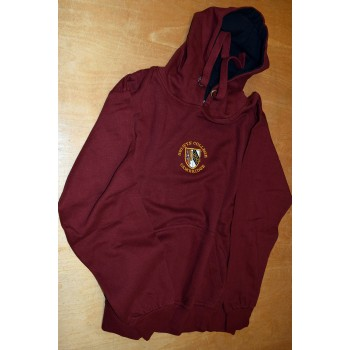 Selwyn College Hooded Maroon Top