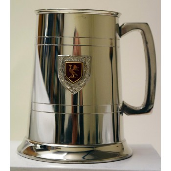 Hawks Club Pewter Tankard