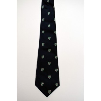 Girton College Crested Tie.