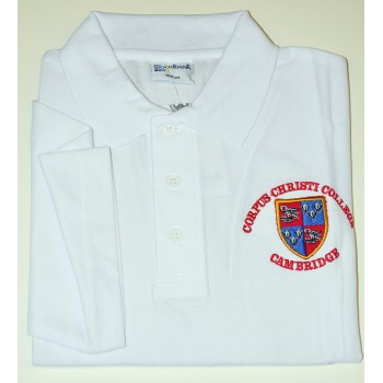 Corpus Christi College Polo Shirt White