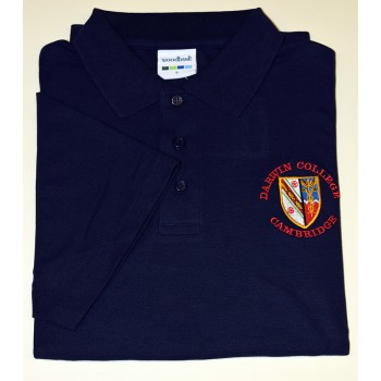 Darwin College Polo Shirt Navy