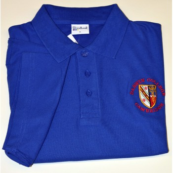 Darwin College Polo Shirt Royal
