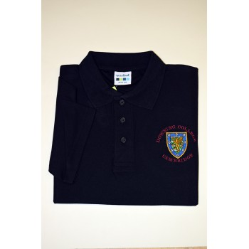 Downing College  Polo Shirt Black
