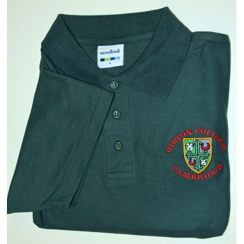 Girton College Polo Shirt Green