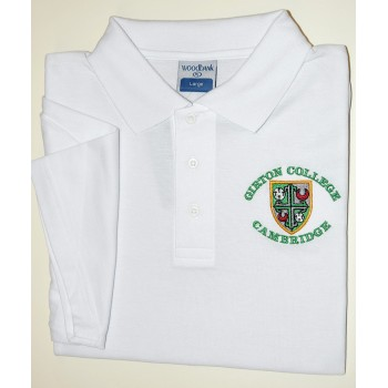 Girton College Polo Shirt White