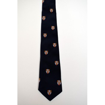 Hughes Hall Crested Tie.