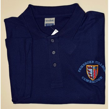 Pembroke College Polo Shirt Navy