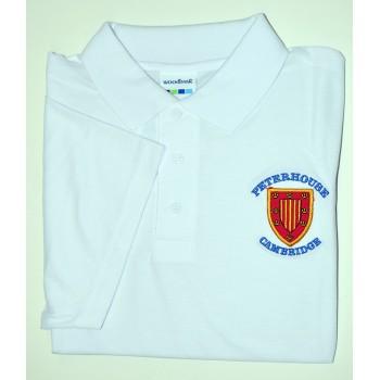 Peterhouse White Polo Shirt