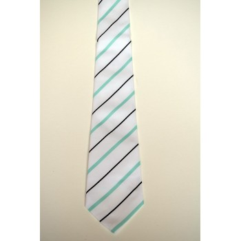 Hughes Hall Summer Striped Tie.