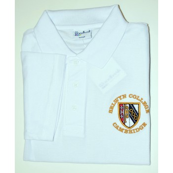 Selwyn College White Polo Shirt