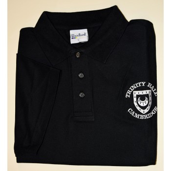 Trinity Hall Black Polo Shirt