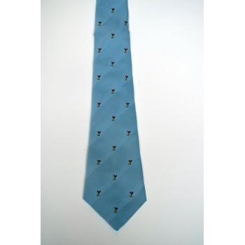 Jesus College Genials Crested Tie.