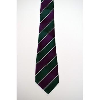 Jesus College Rhadegund Striped Tie.